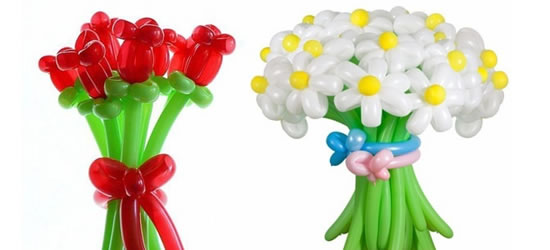 Правильный уход сделает букеты из воздушных шаров долговечными