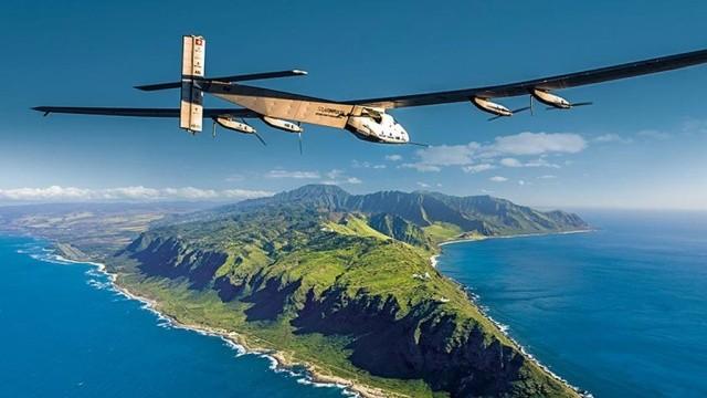 Самолет на солнечных панелях «Солар Импульс-2» снова штурмует Тихий океан