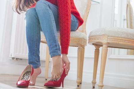 Опасности каблука во время беременности