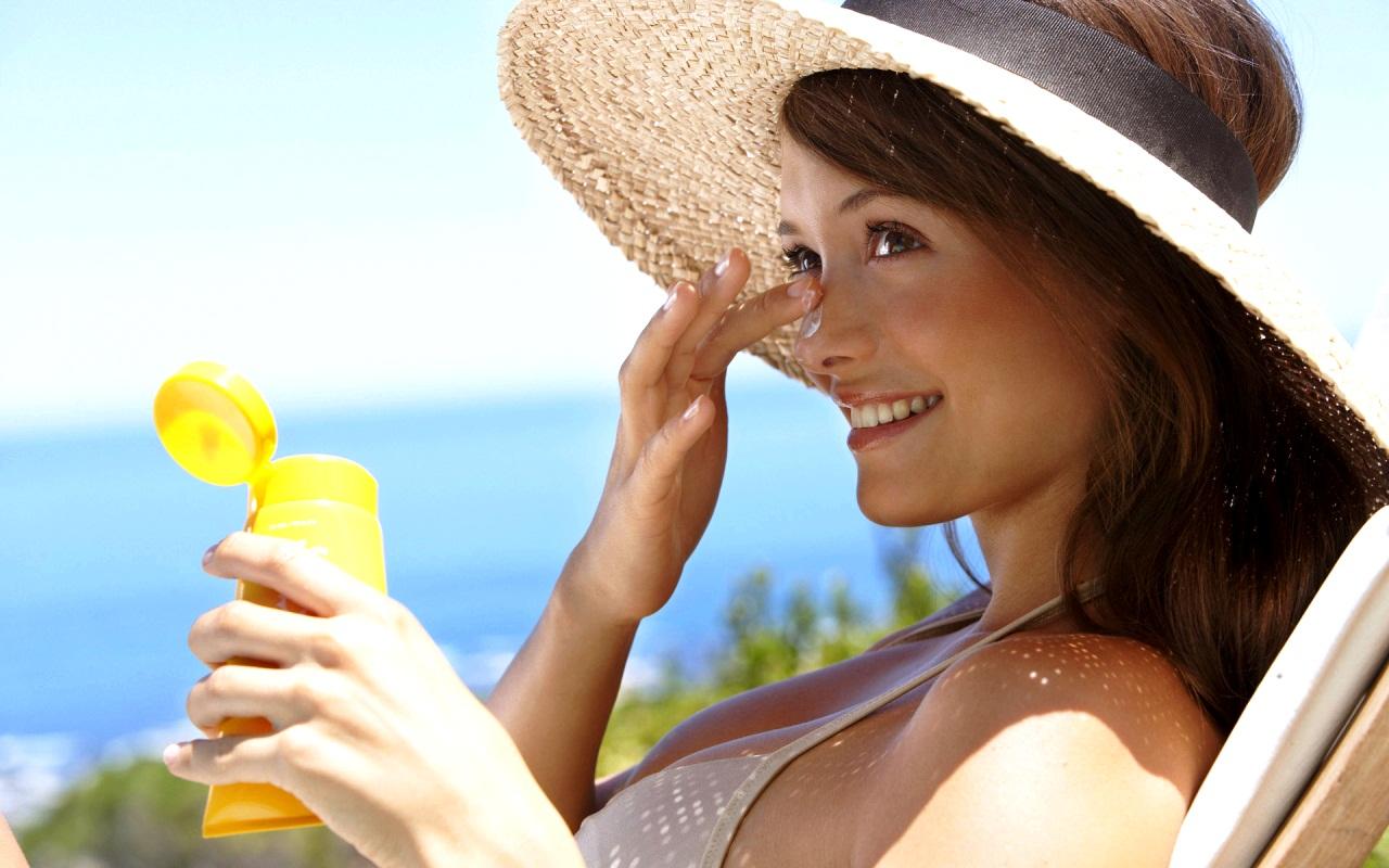 Крем для защиты кожи от солнца