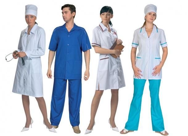 Форменная одежда для медицинского учреждения