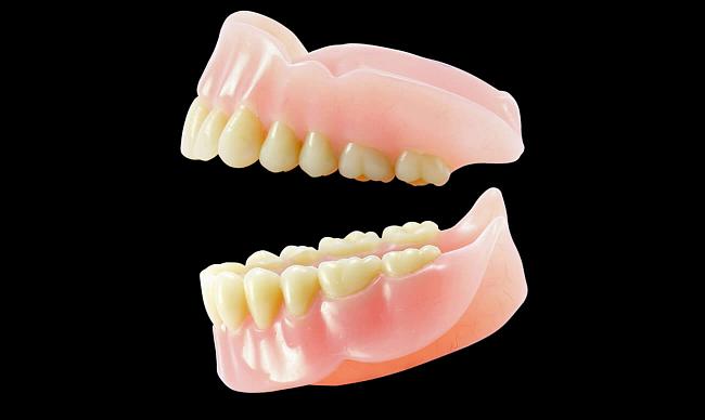 Полные зубные протезы