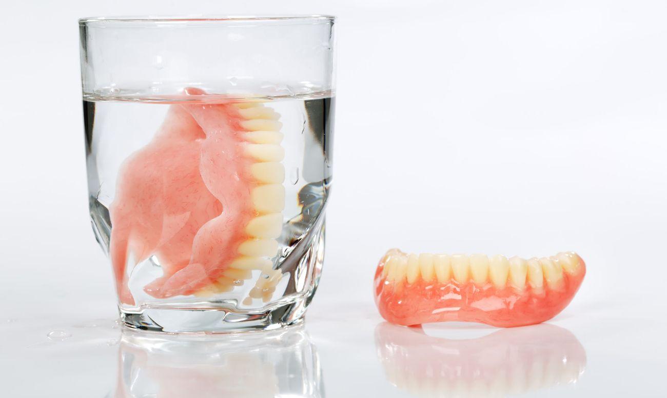 Вставная челюсть и недоедание