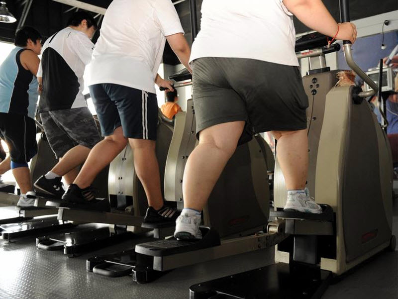 Ожирение-проблема для ног