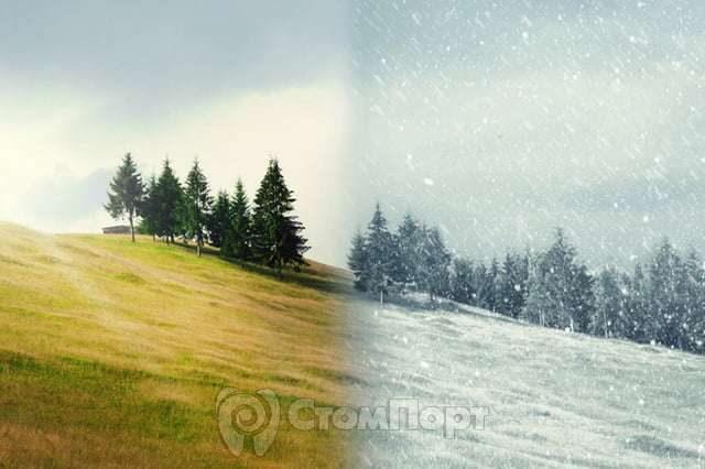 Резкие изменения температуры влияют на развитие абсцессов