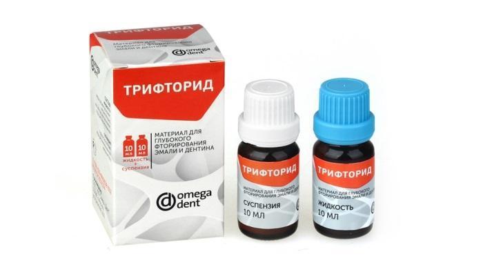 Фторирование зубов в условиях клинического приёма — «Трифторид» от «Омега Дент»