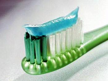 Зубная паста со стеклом