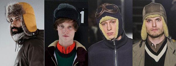 Мужские шапки зима 2016