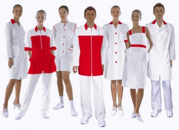 Где и как заказать женские медицинские халаты
