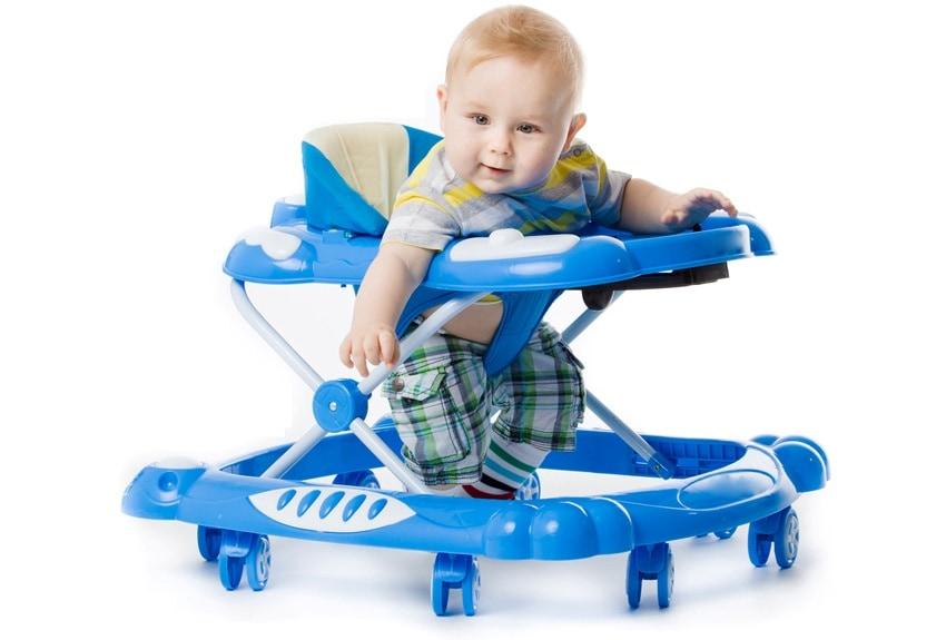 Как выбрать ходунки для ребенка