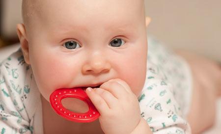 Когда начинается прорезывание зубов у детей