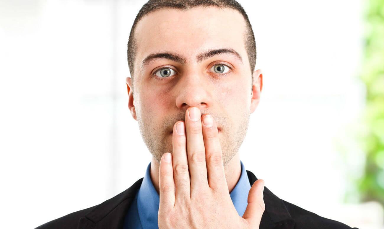 Щекотливая тема – запах изо рта