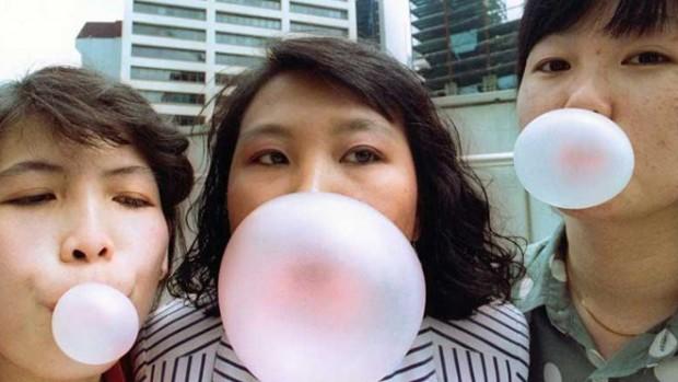 Жевательная резинка избавляет от бактерий в полости рта