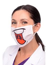 Креативные защитные маски для стоматологов