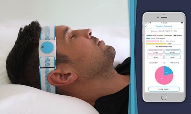 Устройство и мобильное приложение для диагностики бруксизма в домашних условиях