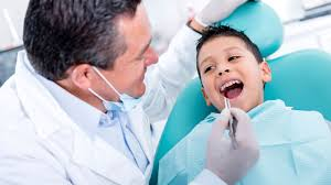 Первый визит ребенка в детскую стоматологию
