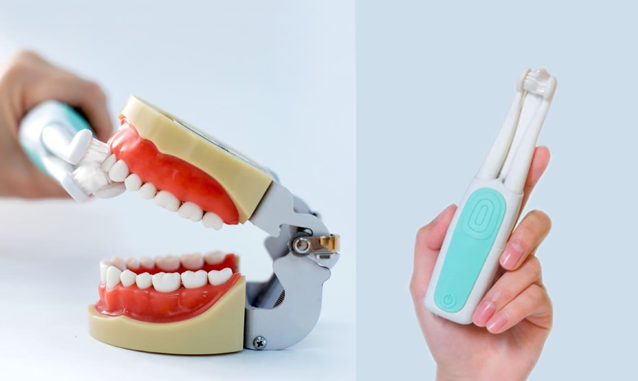 В России появилась «трехголовая» зубная щетка